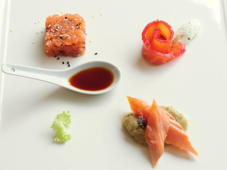 Trilogia di salmone