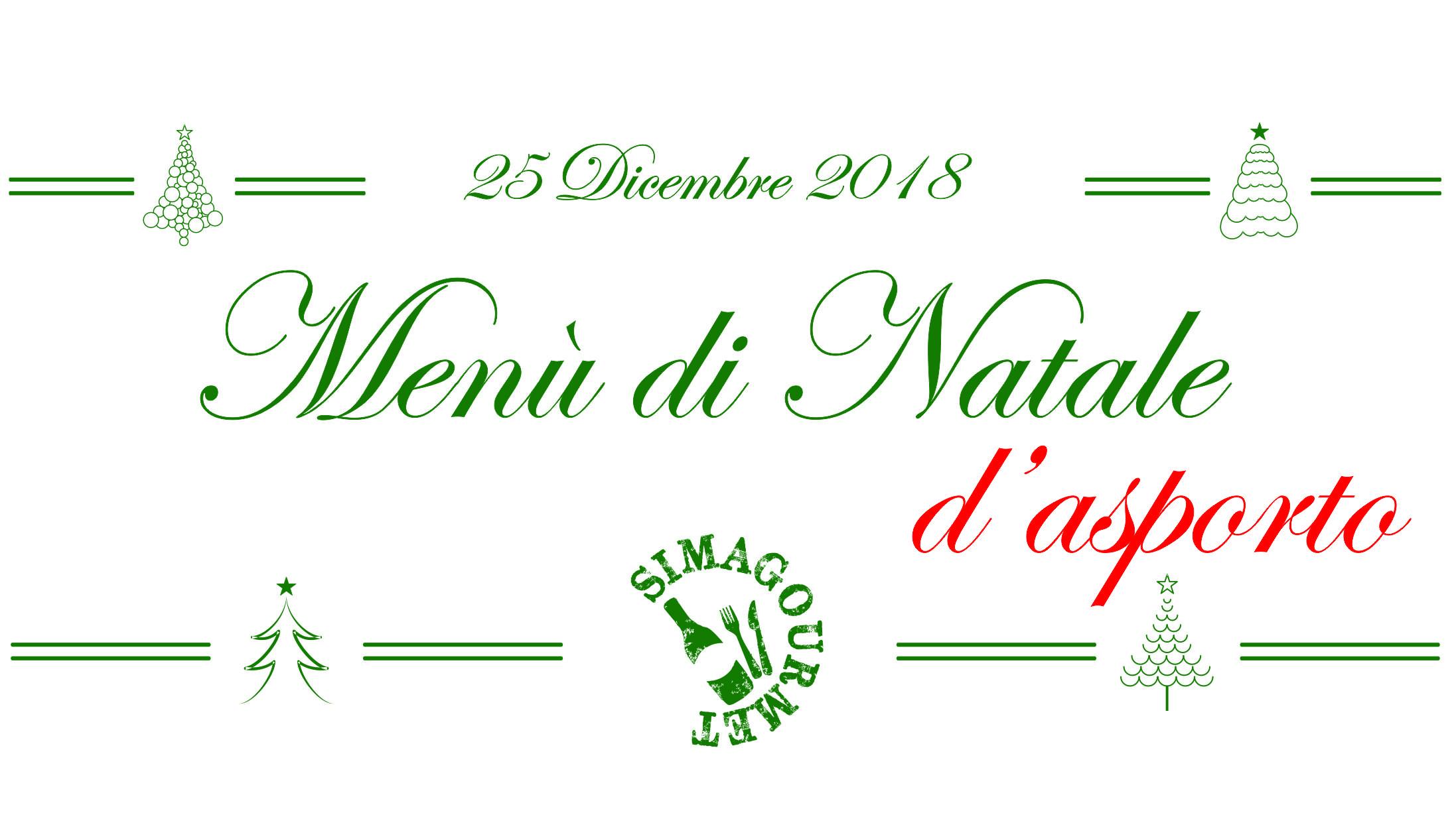Menu Di Natale Per 30 Persone.Menu Di Natale D Asporto 2017 Ristorante Simago