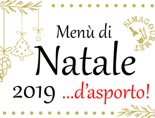 Menù di Natale …d'asporto 2019