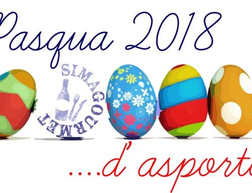 Menu' di Pasqua 2018 d'asporto