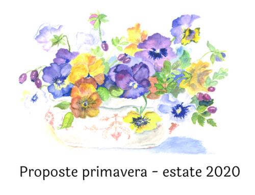 Menù per banchetti Primavera – Estate 2020